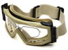 Reading Goggles,Rx,Smoke,PC Shield -- 13E155