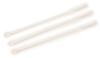 3M White Standard Cable Tie 06248 - 4.1 in Length - 0.1 in Wide -- 051128-59276 -- View Larger Image