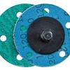 Dynabrade Coated Alumina Zirconia Quick Change Disc - 36 Grit - 3 in Diameter - 92041 -- 616026-92041 - Image