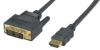 15' HDMI Male to DVI-D Single Cable -- 72-781