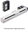 Linear Actuator (Slide) - Reversed Motor (Left Side), X-axis Table with Built-in Controller (Stored Data) -- EAS4LX-E005-ARAAD-3