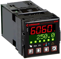 Chromalox 6060 single-loop temperature and process controller is a great choice for precise, cost-effective temperature control for a variety of applications