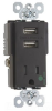 Combination Switch/Receptacle -- TR-8201USB -- View Larger Image