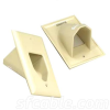 1-Gang Recessed Low Voltage Cable Plate -- 1018-SF-50