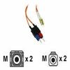 Cables to Go LC/SC LSZH Duplex 62.5/125 Multimode Fiber Patc -- 36464
