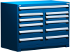 Heavy-Duty Stationary Cabinet (Multi-Drawers) -- R5KHG-3405 -Image