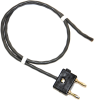 Stacking Double Banana Plug to Cable Only, Twisted Pair -- 3252 -Image