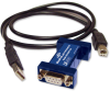 Mini USB to Serial Converters -- 232USB9M