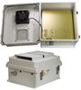14x12x7 Inch 120 VAC Weatherproof Enclosure with Cooling Fan -- NB141207-10F -Image