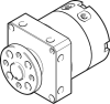 Rotary actuator -- DSM-T-8-180-P-FW -- View Larger Image