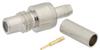 SMC Jack (Female) Connector for RG174, RG316, RG188, LMR-100, .100 inch Cable, Crimp/Solder -- FMCN1546 -Image
