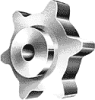 Hinge Top Conveyor Chain Sprocket -- S815A13 - Image
