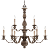 4319-299 9 Light Chandelier -- 4319-299