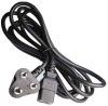 10ft South Africa / India BS546 3-pin Plug to IEC C19 Power Cord -- SF-8018-10B