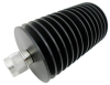 3 dB Fixed Attenuator, N Male to N Female Directional Black Anodized Aluminum Heatsink Body Rated to 100 Watts Up to 18 GHz -- PE7424-03 -Image