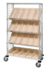 Wire Shelving - Carts - Healthcare & Medical - WRCSL5-63-2448EP-106