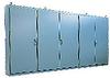 86 x 187 x 20 inch (HxWxD) NEMA 12 Enclosure, multi-door ... -- WA86M5E20