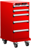 Mobile Compact Cabinet with Partitions -- L3BBD-3415L3 -Image