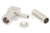 SMB Plug Right Angle Connector Crimp/Solder Attachment for RG188-DS, RG316-DS -- PE44818 -Image