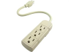 3 Outlet Power Strip with 1' Cord -- 215024