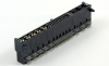 Hybrid Power AC+DC+Signal Right Angle Solder Type Edge Card Connector -- 80307-4A1P11 - Image