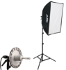 KSBQ-1000 PRO SOFTBOX LIGHT KIT: 1000-WATT 1-LIGHT PRO SOFTBOX LIGHT KIT -- 408079