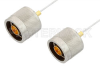 N Male to N Male Cable 12 Inch Length Using PE-SR047FL Coax -- PE34146-12 -Image