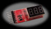 Cell Spy Platinum LiPo Voltage Tester -- 0-SPYPLUS