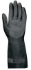 Chemical Gloves,Size 10,Blk,12.5 In L,PR -- 33E986 - Image