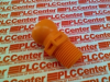 HOSE FITTING PLASTIC ORANGE 3/8IN NPT -- 51804