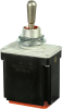MICRO SWITCH TL Series Toggle Switch, 2 pole, 3 position, IWTS (16-20 Gage) terminal, Standard Lever, Military Part Number MS27785-32 -- 102TL2-51 -Image