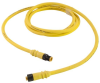 Single Key (M12) Micro-Link Cable Assembly, Rubber, Male/Female, 5 pole, 13.1', 18 AWG -- 705K0131D -- View Larger Image