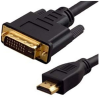 DVI TO HDMI ADAPTER CABLE 2 METER -- 32-231-2M -Image