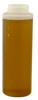 12 oz. LDPE Cylinder Honey Bottle with a 38/400 Neck - 5.75
