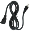 10ft 16 AWG Outlet Saver Power Extension Cord (NEMA 5-15R to NEMA 5-15P) -- P7PE-10 - Image