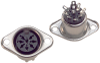 Circular Connectors -- CP-1280-ND