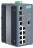 8+2G Port Gigabit Managed Redundant Industrial PoE Switch with Wide Temperature -- EKI-7659CPI