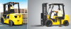 Diesel Forklift with Pneumatic Tires -- 25/30/33D-7E