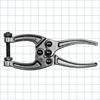 Forged Toggle Pliers -- 150 Series - Image