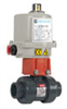 "HCTB1200STACTV/EPM2 - Electrically Actuated PVC Ball Valve, 2"" NPT(F), 120 VAC -- GO-07390-67"