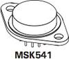 High Power Operational Amplifier -- MSK541 - Image