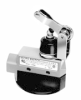 MICRO SWITCH E6/V6 Series Medium-Duty Limit Switches, Top Roller Arm Actuator, Adjustable with Steel Roller, 1NC 1NO SPDT Snap Action, 0.5 in - 14NPT conduit -- BZE6-2RN19 -Image