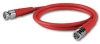 CANARE VAC003F RG59 VIDEO CABLE BNC TO BNC 3' RED -- CANVAC003FRED