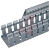 Type H Wide Finger Slotted Duct, PVC,2in X 4in X 6ft,LGRY -- 70044200