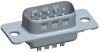 Cable Assemblies and IO cable connectors, IO cable connectors, D-Subminiature, D-Subminiature Cable Signal and Power, Contact type=Signal -- DEP09P065TXLF - Image