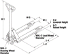 Pallet Truck with Hand Brake -- WES-272667