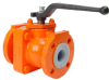 PTFE Lined Full Port Ball Valve -- 911 Series - Image