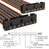 Rectangular Cable Assemblies -- A3RRB-3418M-ND -- View Larger Image