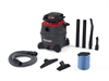 16 Gallon Industrial Wet/Dry Vac with Detachable Blower