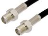 SMA Female to SMA Female Cable 60 Inch Length Using RG58 Coax -- PE33547-60 -Image